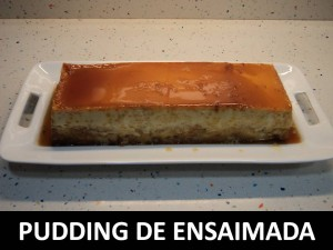 Pudding ensaimada